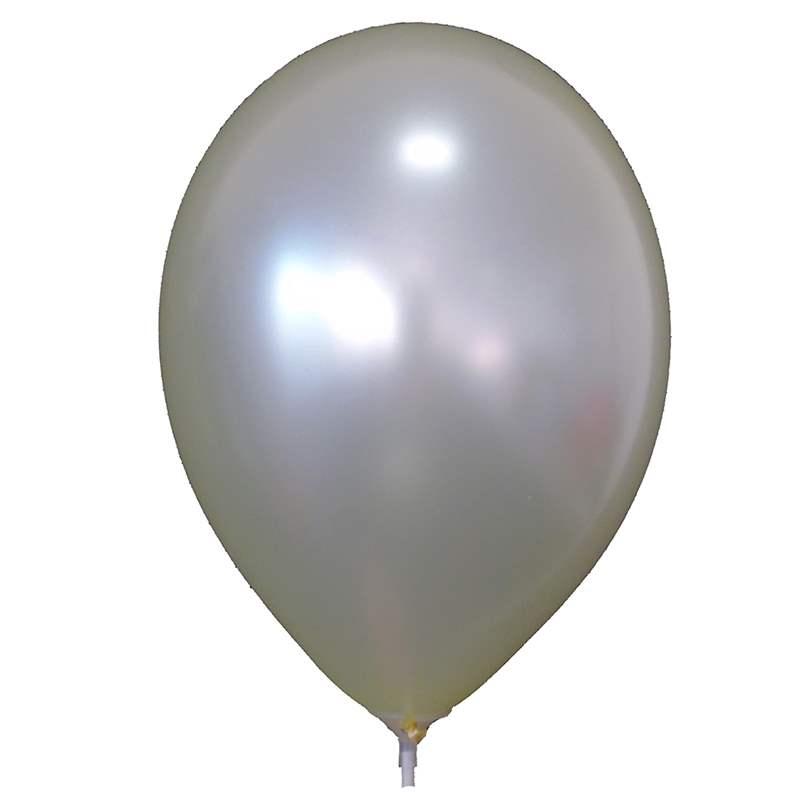 Ø 28cm / 11inch Qualatex, R085Q-M PERL-Farben - Umfang ~90/104cm ; Form Tropfenform/Birnenförmig