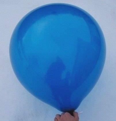 R150 Ø55cm     Blau,  Größe Riesenballon Typ S - unbedruckt