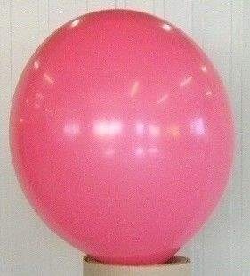 R150 Ø55cm     PINK  Größe Riesenballon Typ S - unbedruckt