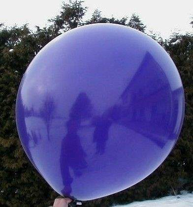R150 Ø55cm     Violett,  Größe Riesenballon Typ S - unbedruckt
