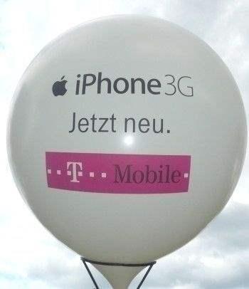 Ø 60cm  Bunter MIX, 2seitig - 2farbig bedruckter Riesenballon WR175-22,  Ballonstutzen unten