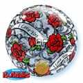 B056-27405 Bubbles I love you with red roses Ø56cm / 22inch, ungefüllt